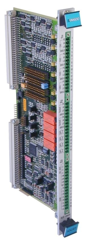 VM600 IOC4T input/output card for MPC4 cards