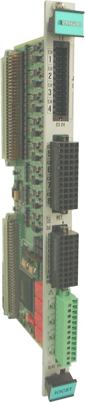 VM600 IOC8T input/output card for AMC8 card