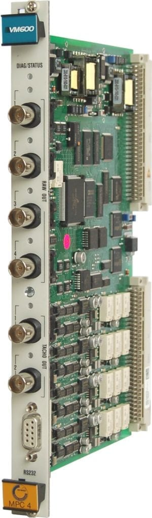 VM600 MPC4SIL machinery protection card