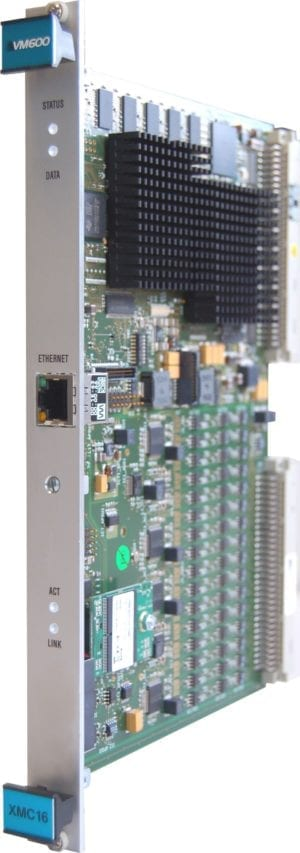 VM600 XMC16 condition monitoring card for combustion
