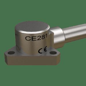 CE281 piezoelectric accelerometer